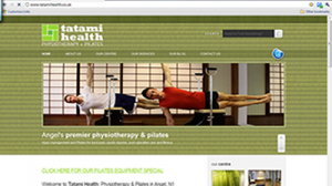 The old Tatami Health website