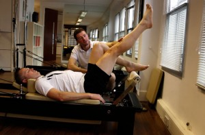Pilates Rehabilitation on the Reformer